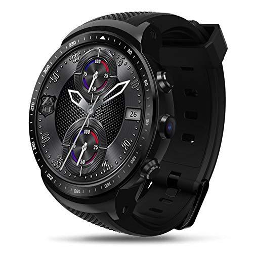 LYDB Uhren 3G GPS WiFi Smartwatch Android 5.1 Quad Core bis zu 1,3 GHz 1 GB + 16 GB 2,0 MP Kamera Pulsmesser Smart Watch (Schwarz) -