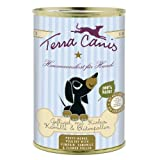 Terra Canis | Geflügel mit Kürbis, Kamille und Blütenpollen für Welpen | 12 x 400 g