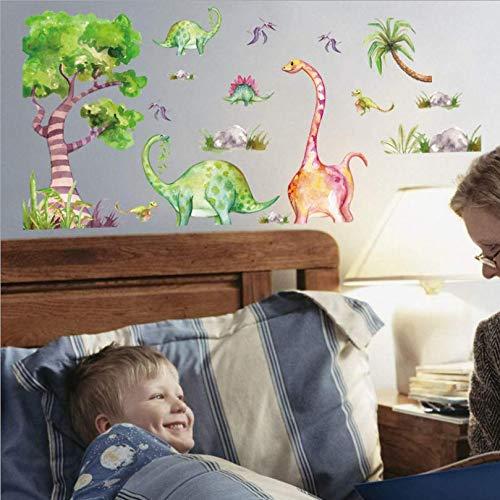 zbinbin Wand Stickersnew Animal Birthday Concert Kinderzimmer Veranda Krippe Kindergarten Hintergrund Dekorativen 126X61Cm