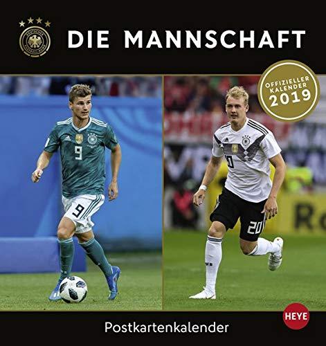 DFB Sammelkartenkalender - Kalender 2019