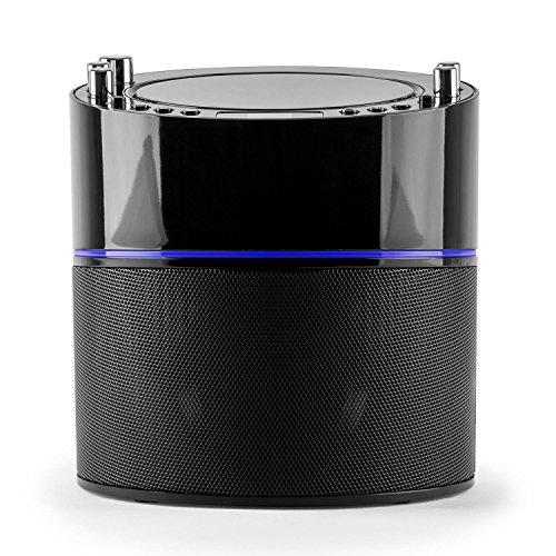 auna KS-1 Starlet • Kinder Karaoke Anlage • Karaoke Player • Karaoke Set • inkl. 1 x dynamisches Mikrofon • 2 x Mikrofonanschluss • CD+G-Player • inkl. Karaoke CD • Echo-Effekt • A.V.C. Funktion • Video- und Audio-Ausgang • programmierbar • schwarz - 4