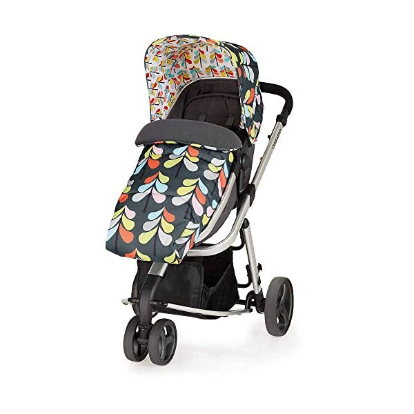 Cosatto Giggle Mix pram and Pushchair Nordik with car seat Base & raincover Cosatto Includes: Chassis,Seat unit, Hold Car seat,Isofix base,Car seat adaptors,Raincover, Apron and 4 Year guarantee(UK and Ireland only) Suitable from birth up to 15kg. One unit transforms from newborn pram mode into pushchair mode. Space saving. No need to buy separate carrycot.. Colour packs available so you can change the look to suit your mood, family and adventures. Includes hood, pram apron and padded pushchair apron. 4