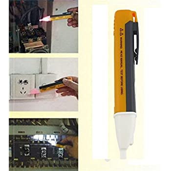 MANjia96COco AC Electric Voltage Power Detector Sensor Tester Non-Contact Pen Stick 90~1000V
