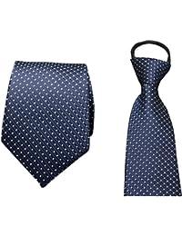 EOZY Herren Satin Krawatte Seidenkrawatte Hochzeit Business