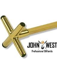 John West queue de billard Pont laiton Croix