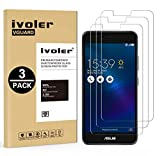 [Lot de 3] Asus Zenfone 3 Max ZC520TL 5.2'' Protection écran, iVoler Film Protection d'écran en Verre Trempé Glass Screen Protector Vitre Tempered pour Asus Zenfone 3 Max ZC520TL 5.2'' - Dureté 9H, Ultra-mince 0.30 mm, 2.5D Bords Arrondis- Anti-rayure, Anti-traces de Doigts,Haute-réponse, Haute transparence- Garantie de Remplacement de 18 Mois