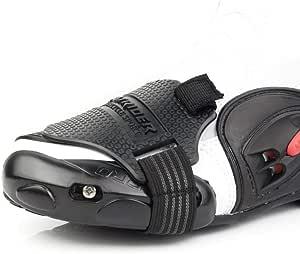Nakelucy Motorrad Motorrad Schaltkissen Überschuh Motorrad Schalthebel Verschleißfester Moto Schuhschutz Rutschfestes Schalthebelzubehör Küche Haushalt