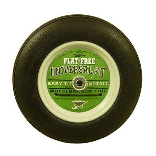 MARATHON INDUSTRIES - Universal Fit Flat Free Wheelbarrow Tire