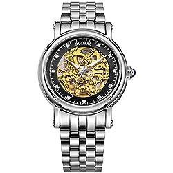 Herren Uhren Sport Watch Strap automatische mechanische Uhr , 5