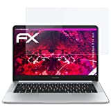 atFolix Glasfolie kompatibel mit Huawei MateBook D 14 inch Panzerfolie, 9H Hybrid-Glass FX Schutzpanzer Folie