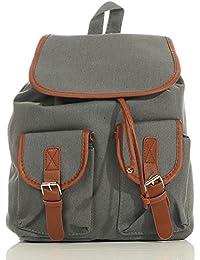 malito Damen Rucksack | Handtasche in trendigen Farben | Tasche mit vielen Mustern - Schultasche R800