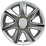 CM DESIGN RUN 2 Silber Grau - 15 Zoll, passend für fast alle Mercedes Benz z.B. für C-Klasse W202