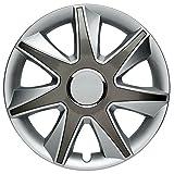CM DESIGN RUN 2 Silber Grau - 15 Zoll, passend für fast alle Opel z.B. für Meriva A