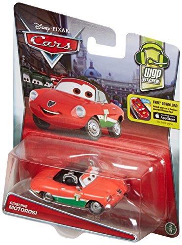 Disney Cars Giuseppe Motorosi Serie WGP Pit Crew The World of Cars (Disney Cars 2-pit Crew)