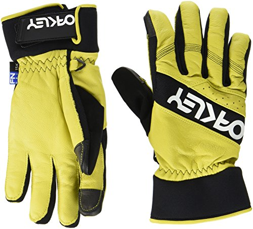 Oakley Factory Winter 2Herren-Handschuhe XL gelb (Oakley Handschuhe Xl)