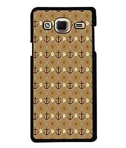 PrintVisa Retro Anchor Wheel Ship High Gloss Designer Back Case Cover for Samsung Galaxy J3 (2015)