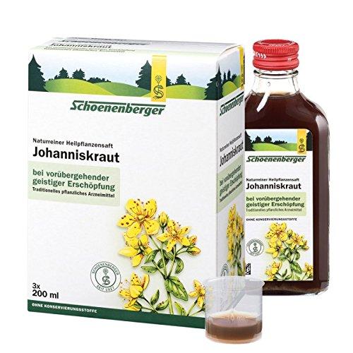 Schoenenberger Johanniskraut Saft, 3x200 ml
