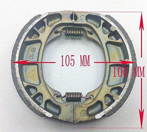 Bremssattel für 50cc Gy6 Roller Roller Roller Trommelbremse TaoTao Peace NST VIP