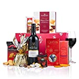 Christmas Carol Christmas Hamper - Red Wine, Pudding, Mince Pies - Virginia Hayward - Food & Drink Hamper Gift - Next Day UK del
