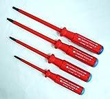 Professionelle hochwertiges Chrom-Vanadium 1000Volt Torx 4PCS Schraubendreher-Set