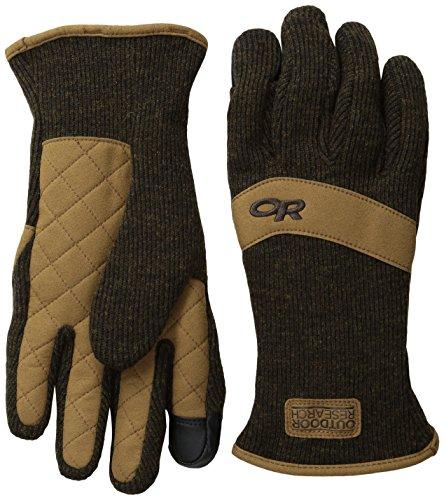 Outdoor Research Handschuhe Exit Sensor, Unisex-Erwachsene, earth, Large - Erwachsenen Finger Sensor