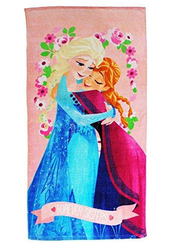 Unbekannt Badetuch - Disney die Eiskönigin  Frozen  - 70 cm * 140 cm Handtuch - Strandtuch - 100 {34265e2a6c1be98fd9cd9a326eb05af316d5f257e96ffc7c5652e149a9f68f73} Baumwolle - Mädchen 70x140 für Kinder - Erwachsene Badehandtuch - v..