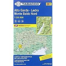 Tabacco Wandern 1 : 25 000 Alto Garda - Ledro - Monte Baldo Northern