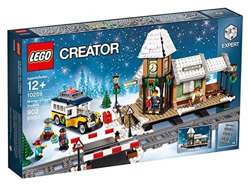 LEGO Creator 10259 Giocattolo da costruzione-Stazione ferroviaria invernale 1 spesavip