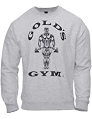 Golds Gym Mens Fitted Sweatshirt Stronger Than EXCUSES Tee 60% Polyester 40% Baumwolle