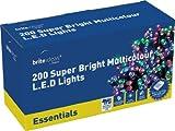 Brite Ideas Festive Productions 200 LED Lights - Multicolour