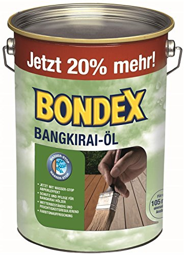 Bondex  <strong>Gefahrenhinweise</strong>   Schädlich für Wasserorganismen mit langfristiger Wirkung
