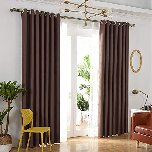 Verdunkelungsvorhänge Volle, Wohnzimmer Balkon Schlafzimmer Schattierung Schallschutz Sonnenschutz Vorhang 150cm × 200cm1 Panel -