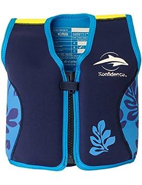 Konfidence - Chaleco natación, 4 - 5 años, color azul (PL Ociotrends PL6089)