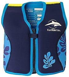 Konfidence Schwimmhilfe 4-5 Jahre, Blau-Marine