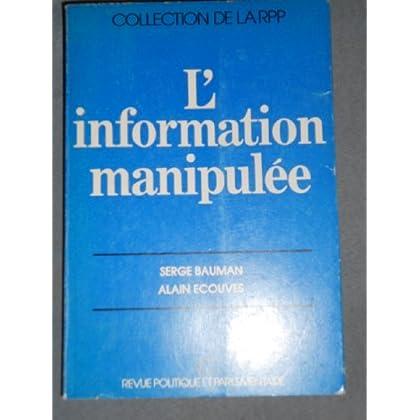 L'information manipulée