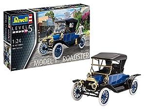 Revell-1913 Ford T Roadster, Escala 1:24 Kit de Modelos de plástico, 1/24 (Revell 07661 7661)