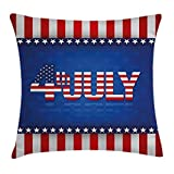 Best Furniture of America Sofa Sets - Ambesonne 4th of July Throw Pillow Cushion Cover Review