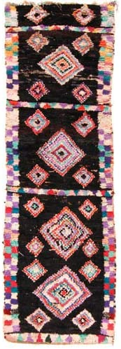 Trendcarpet Tappeto Berberi dal Marocco 310 Boucherouite 310 Marocco x 90 cm c201ca