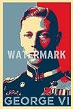 TPCK King George VI Kunstdruck (Obama Hope Parodie) Hochglanz Foto Poster - Maße: 60 x 40 cm