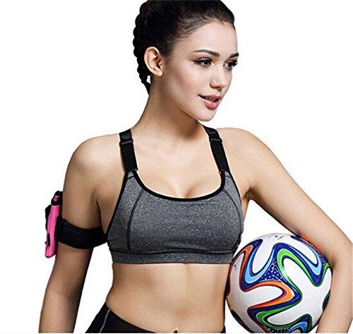 Femmes Sexy Gilet-Forme Soutien-gorge de sport Antichoc Sans armature Ultimate run bra Pour Pilates Running fitness Yoga Sports Bra 7