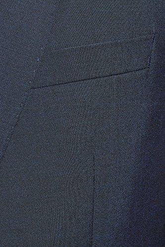 next Uomo Completo Signature In Lana Italiana: Giacca Vestibilità Slim Blu