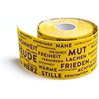 Integrales PREMIUM Kinesiologie Tape - Sporttape - Kinesiotape - 5 cm x 5 m (Gelb) preisvergleich bei billige-tabletten.eu