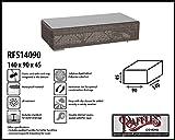 Raffles Covers RFS14090 Möbelabdeckung für Gartencouchtisch 140 x 90 H: