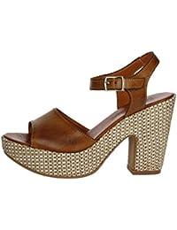 Pregunta PZ6579-F002 Sandale Femme Blanc Blanc - Chaussures Sandale Femme