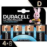 Duracell Ultra Power Piles Alcalines Type D, Lot de 4 Piles (Visuel non Contractuel)