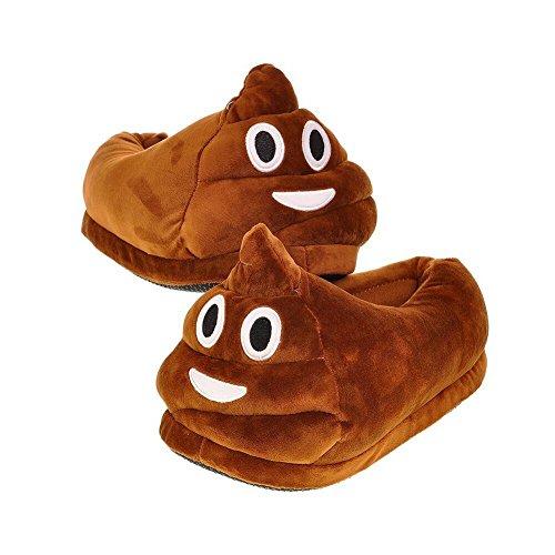 starrying-sky-Zapatillas-Emoji-Poop-QQ-Smile-Unisex-Dibujos-animados-Zapatos-de-interior-para-mujeres-Adolescentes-Chicas-Nios-Zapatos-de-hombres