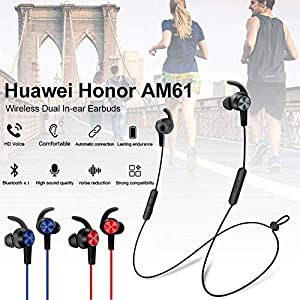 Mollylover Kopfhörer Stereo Running Magnetische Kopfhörer Wireless Dual In-Ear-Ohrhörer Wasserdicht Sport Bluetooth…