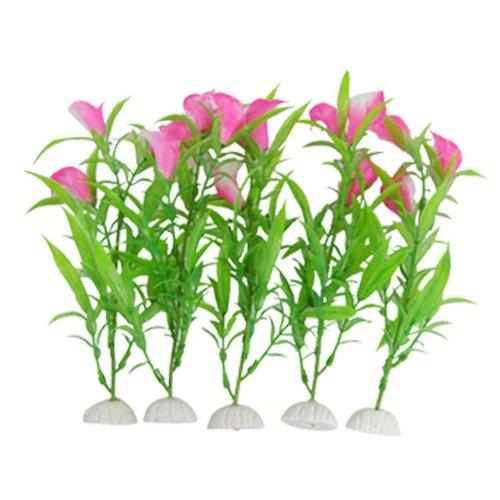plantas-artificiales-de-acuario-sodialr-decoracion-del-lirio-de-cala-de-plastico-rosado-rosa-para-ac