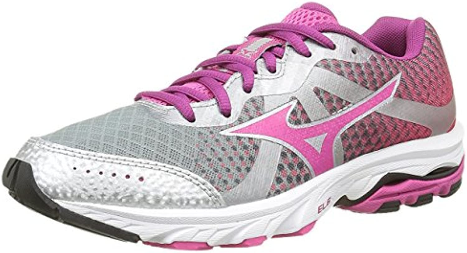 Mizuno Zapatillas de Running Wave Elevation Wos Morado/Plata EU 40.5 (US 9.5)