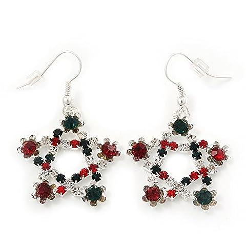 Rot/Grün/Weiß, Kristall-